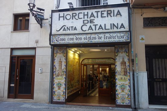 Horchateria santa catalina valencia precios