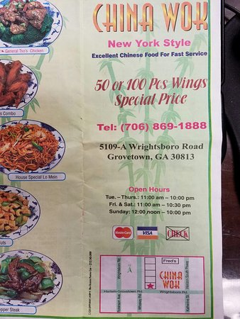 Chinese Food Delivery Augusta Ga Food
