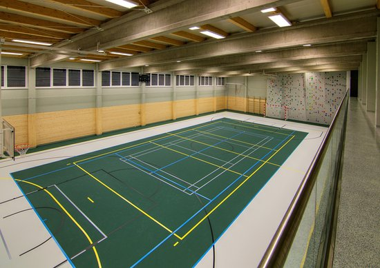 Srni, Czech Republic: sportovní hala