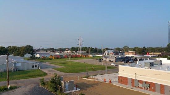 Americas Best Value Inn- Benton Harbor: motel op de uiterste hoek van een bedrijventerrein