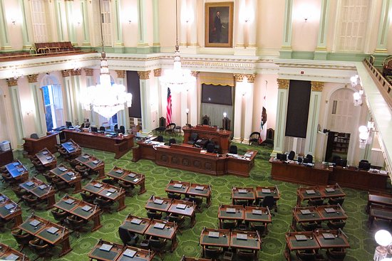 California State Capitol and Museum: California State Assembly Chambers