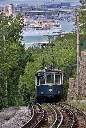 Opicina Tramway: Tram in salita