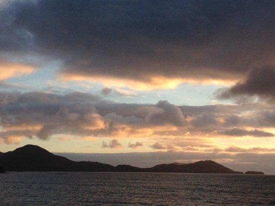 Waterville, أيرلندا: Sunset from Waterville beach, Jan '17