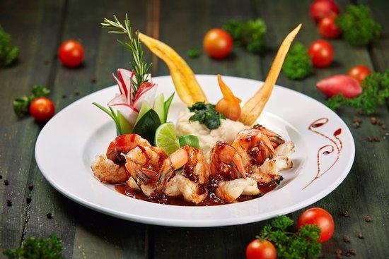 Mayan Bistro: Yummy Shrimp!