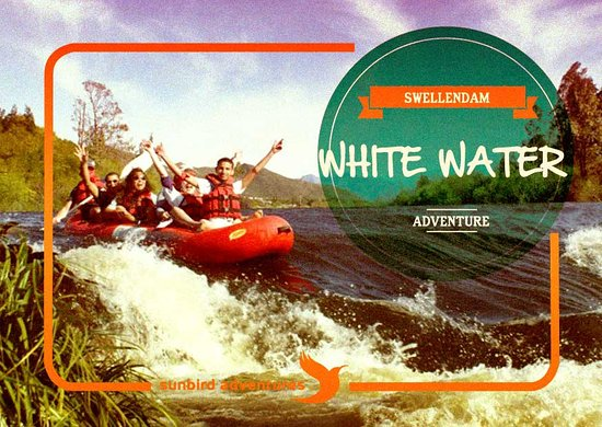 Swellendam, Sudáfrica: Feel the rush of the Breede River, with water splashing everywhere as you white water raft to yo