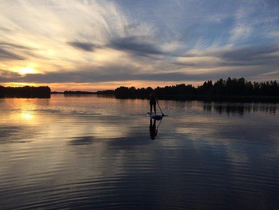 Jamijarvi, Finlandia: Stand Up Paddling