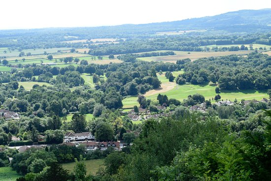 Chilham, UK : Box Hill