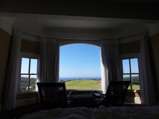 Stanger, South Africa: vue sublime sur l'océan indien du lit