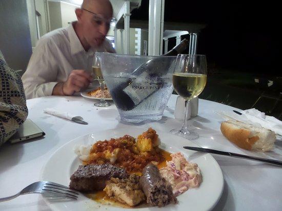 Stanger, South Africa: notre diner
