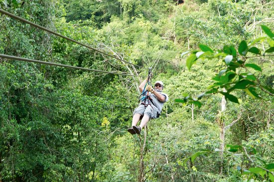 Belize Jungle Masters: Getting the hang of it, no pun intended