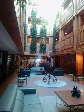 El Tarter, Andorra: hall de détente