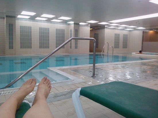 El Tarter, Andorra: piscine interieure et jacuzzi