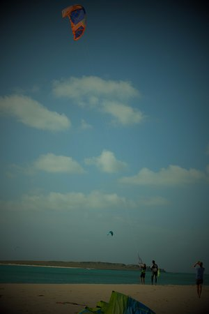 Kite Kriol - Plage de Sal Rei