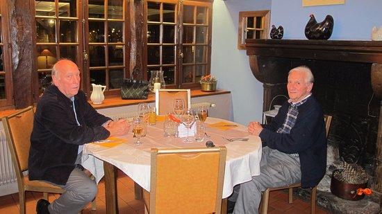 Sance, Fransa: Cosy dining area