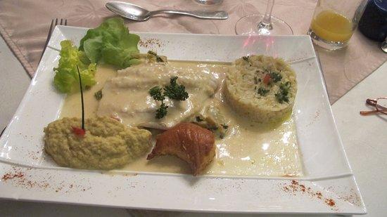 Sance, ฝรั่งเศส: Fish dish