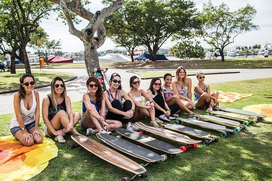 Guanabara Boards Escola de Skateboard Longboard