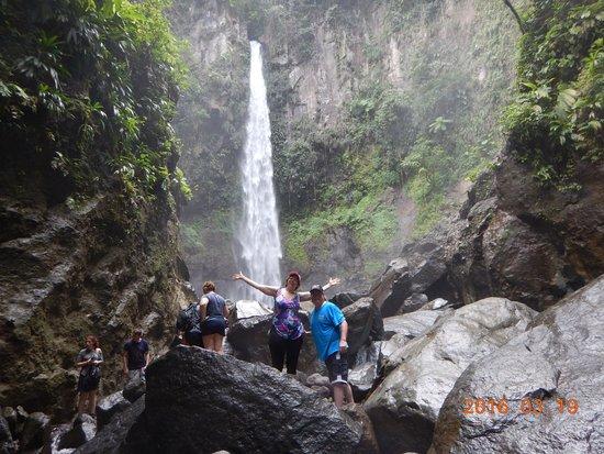 Sari-Sari Waterfall: Absolutely beautiful.