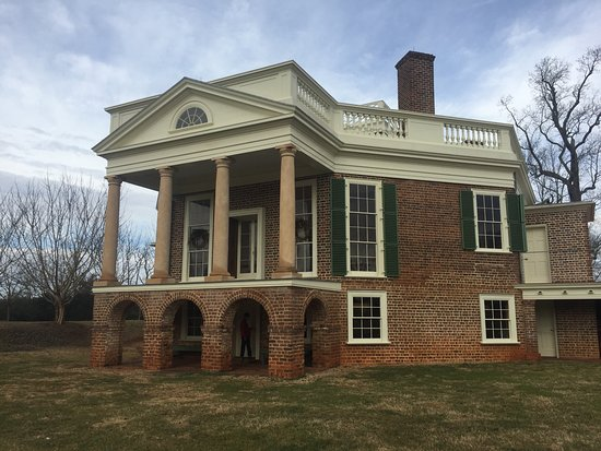 The south side of Poplar Forest