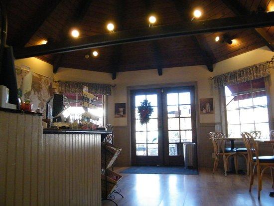 Hans Christian Andersen Museum: cafe on first floor