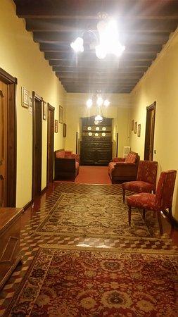 Hotel Elvezia: corridoio