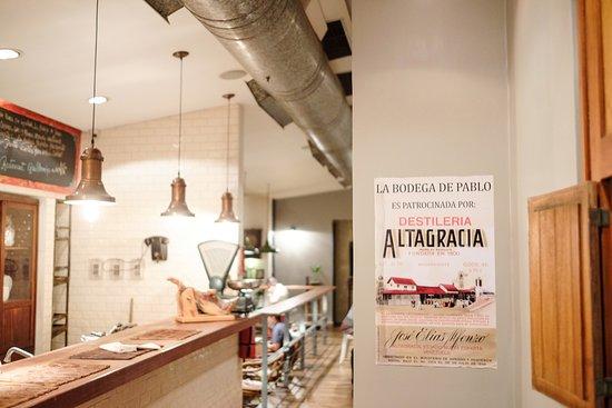 La Asuncion, Venezuela: La bodega de Pablo en Guillermina Restaurant