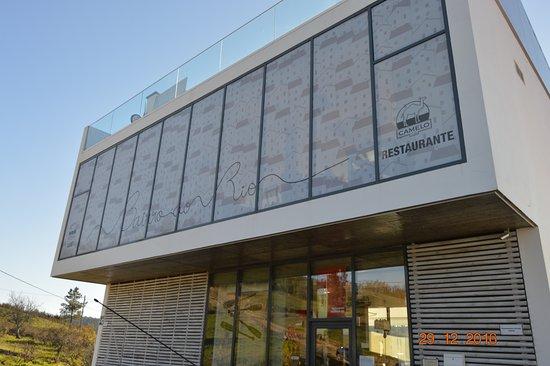 Abrantes, Portugal: Exterior do restaurante.