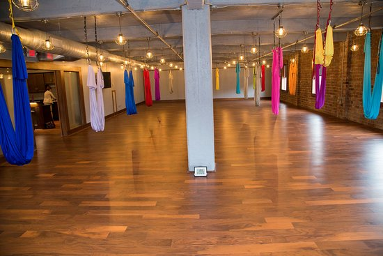 Charleston, Virginia Occidental: Room 3/ Aerial Yoga Room