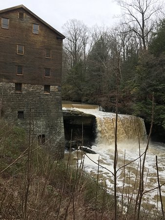 Canfield, OH: Historic Mill. Worth the trip to tour or hike around the exterior.