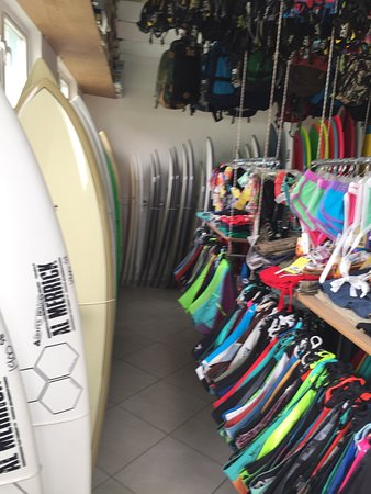 Christ Church Parish, Barbados: Inside the dreadordead surf shop : clothing & accessories: Hurly , Rip-curl ,Oneill ,Da Kaine .