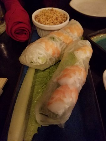 Edmond, OK: Shrimp Spring Rolls