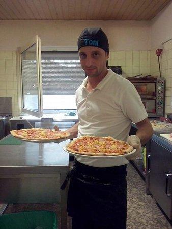 Weinheim, Deutschland: Pizza?