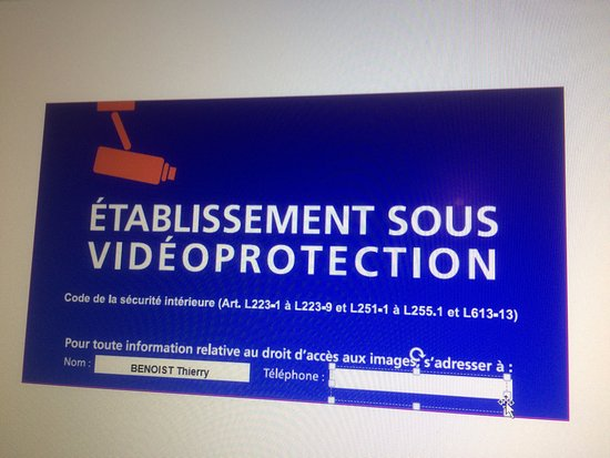 Change, France: Vidéo Protection