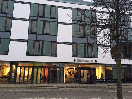 Kolding, Dinamarca: Hotellfasaden