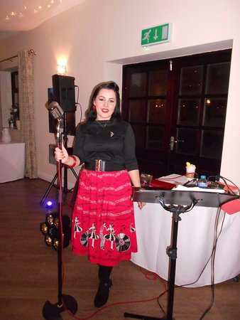Barrow-in-Furness, UK: The brill singer Becki Fishwick everyone loved her