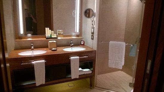 Shangri-La Hotel, Singapore: Shower