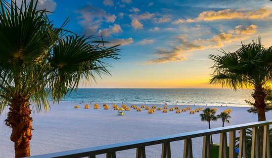 Alden Suites: View from our Gulf front Balconies