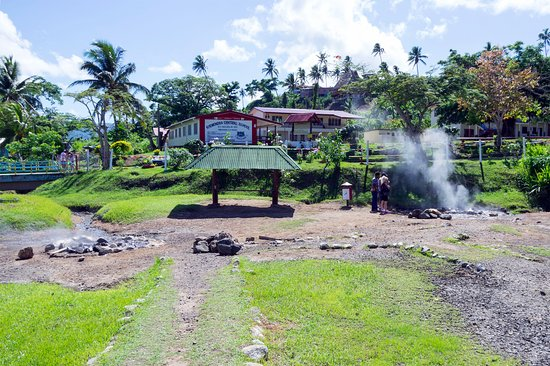 Vanua Levu, Fiji: The Hot Springs Site