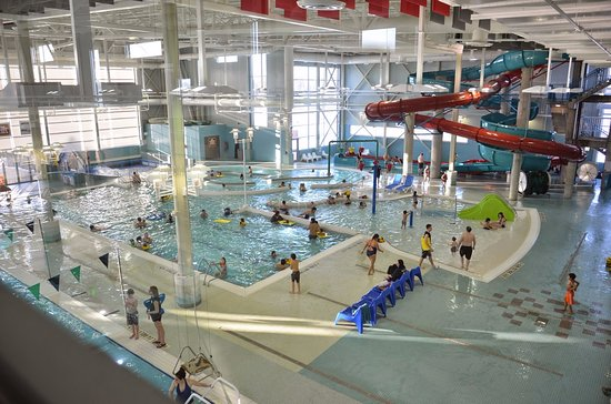 Wetaskiwin, Canada: The centre has a dry fitness facility and numerous aquatic attractions