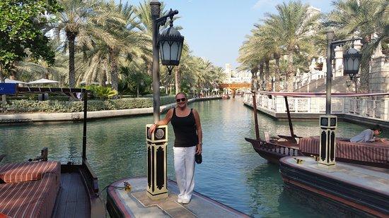 Jumeirah Dar Al Masyaf at Madinat Jumeirah: Boats that take you around the property