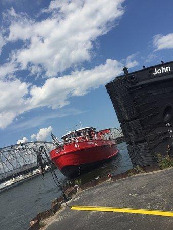 Sturgeon Bay, WI: Ride The Fireboat