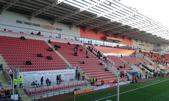 Rotherham, UK: Away End View