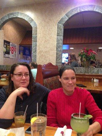 Front Royal, VA: My dear sister & wife Ami at Joe's Steakhouse
