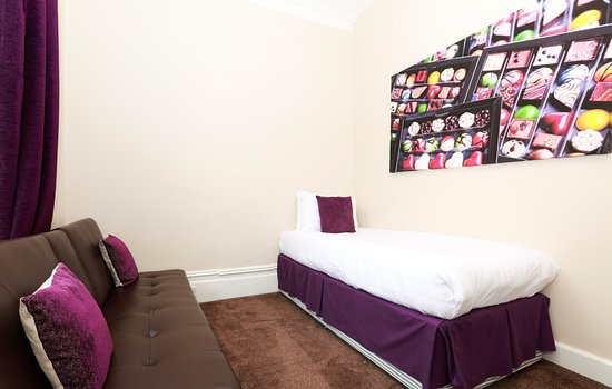 Family Room Picture Of The Chocolate Box Hotel Bournemouth Tripadvisor