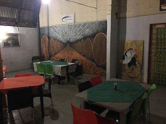 Winterton, Sudáfrica: The Black Scabbard Portuguese Bistro
