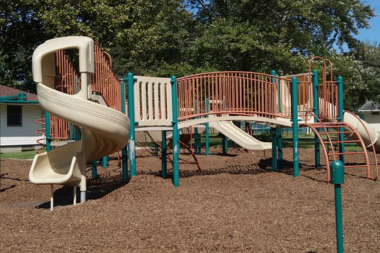 Winona Lake, IN : The playground.