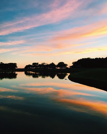 Sea Island, GA: Natural beauty in its purest form on the golf course.