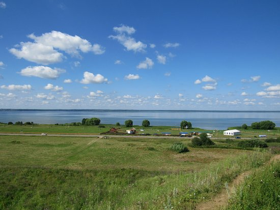Pereslavl-Zalessky, Ρωσία: вид на озеро