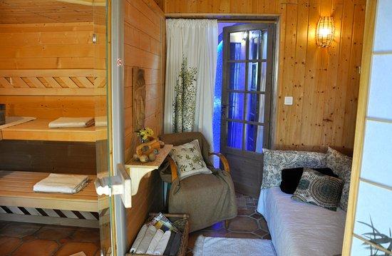 Uzes, Francia: Sauna house