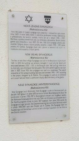 "Trebic, Czech Republic: ""Rear Synagogue"""