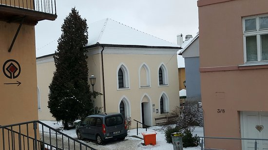 "Trebic, Tsjechië: ""Front Synagogue"" now a Church"
